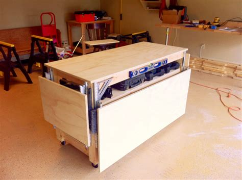 mobile workbench do it all mobile workbench plans furnitureplans