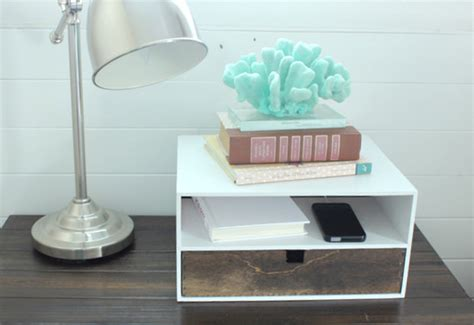 bedside charging station table quickinfoway interior ideas 15 cool and clever diy charging stations house design