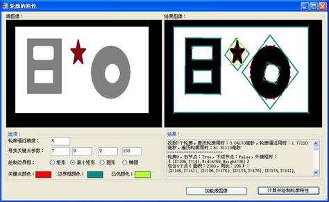 opencv template matching opencv学习篇 8 轮廓的查找 表达 绘制 特性及匹配 爱程序网