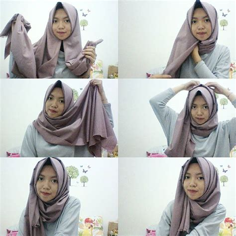 tutorial hijab simple by zoya 11 cara memakai pashmina simple tanpa ciput hijabyuk com