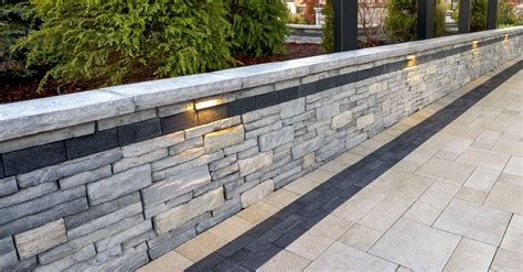 modern retaining wall retaining wall options for modern homes in central