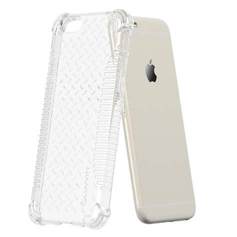 Wedding Apple Iphone 6 Tpu Hybrid Soft Rubber Side luvvitt clear grip iphone 6 6s soft tpu rubber back cover ebay