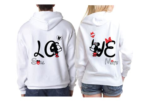 Hubby Lover Soulmate B28 Kaos Family T Shirt disney soulmate matching shirts with mickey minnie married with mickey