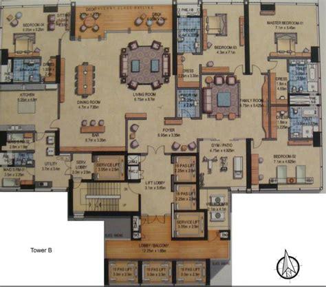 Ub City 16th Floor by Prestige Kingfisher Towers Apartments Prestige