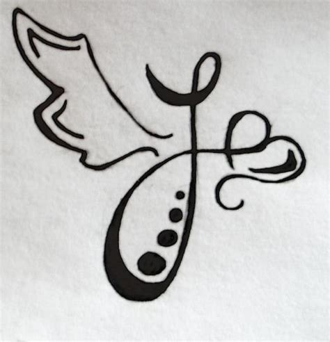 letter i tattoo designs best 25 letter j ideas on j