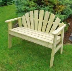 sunburst 2 seat garden bench