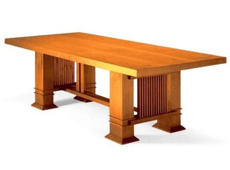 frank lloyd wright table dining table by frank lloyd wright bauhaus italy