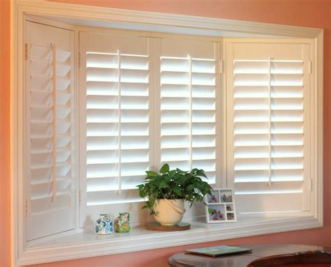 Window Treatments For A Bow Window windows up custom shutters