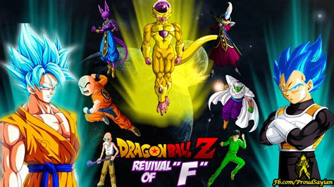 dragon ball z resurrection wallpaper resurrection f movie wallpaper by megamody on deviantart