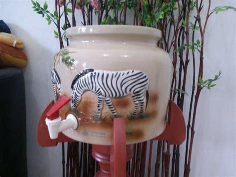 Dispenser Guci Keramik jual guci galon dispenser minum keramik trisensa harga