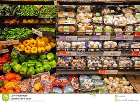 Shelf Vegetable by Fresh Vegetable Shelf Editorial Photo Image 50042896