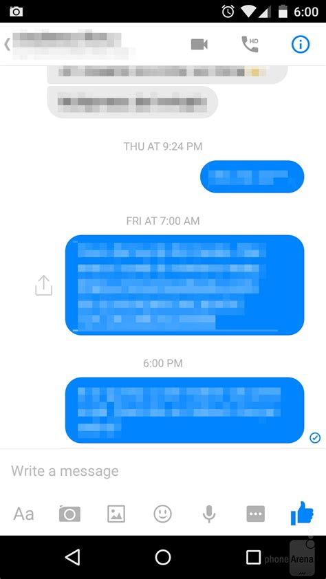 how to a that has been how to tell if your message has been read seen in s messenger app