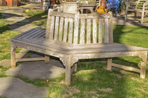 tree surround bench english teak tree surround bench at 1stdibs