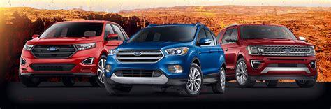 Ford Suv Lineup by 2018 Ford Suv Lineup Sanderson Ford Az