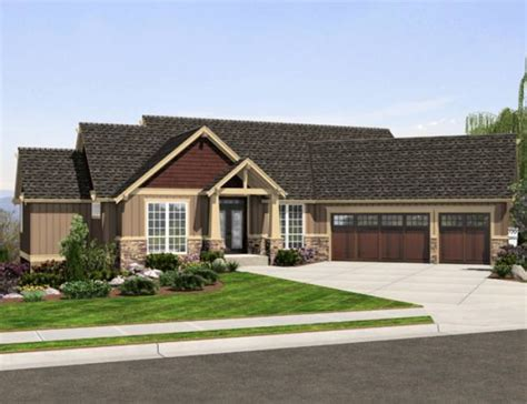 Redman Homes Floor Plans by Ranch Home Plans With Angled Garage House Design Plans