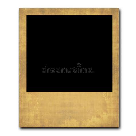 vintage polaroid single vintage polaroid frame stock illustration