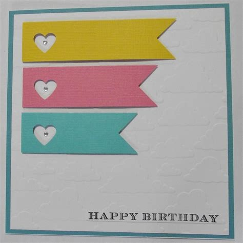 easy cards for clean and simple birthday card the cactus