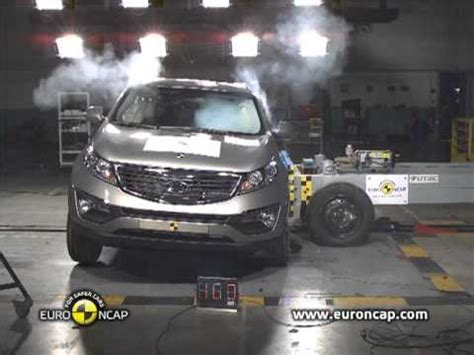 Kia Sportage Crash Test Ncap Kia Sportage 2010 Crash Test