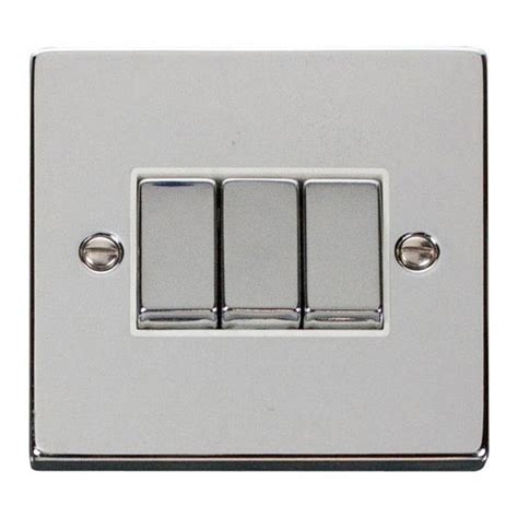 buy click deco polished chrome light switch 3