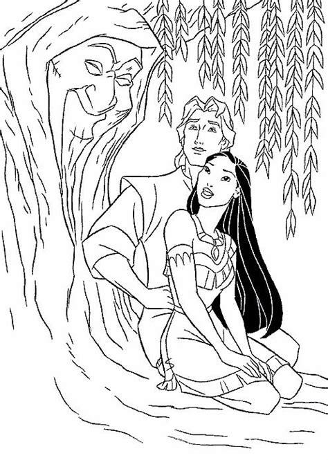 Princess Coloring Page Coloring Pocahontas 01 All Kids Disney Princess Coloring Pages Pocahontas Printable