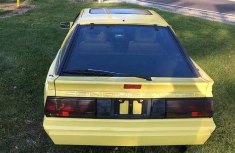 chrysler conquest yellow san marino yellow 1988 chrysler conquest
