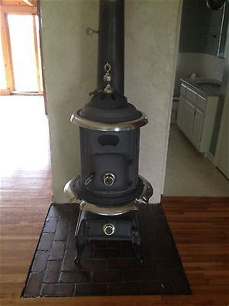 comfort appliances woodburner pot belly stove antique by comfort stove cast