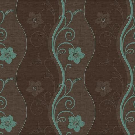 brown and teal arthouse opera rhythm chocolate brown teal 614404