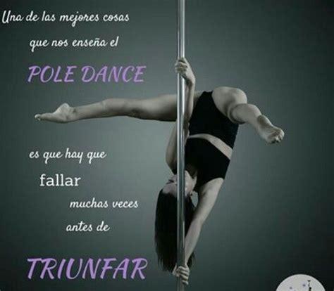 frase motivadora del  pole dance fitness pinterest