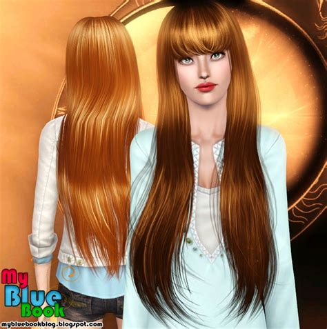 long hair with bangs sims2 mod the sims wcif long fringed hair for yf that isn t