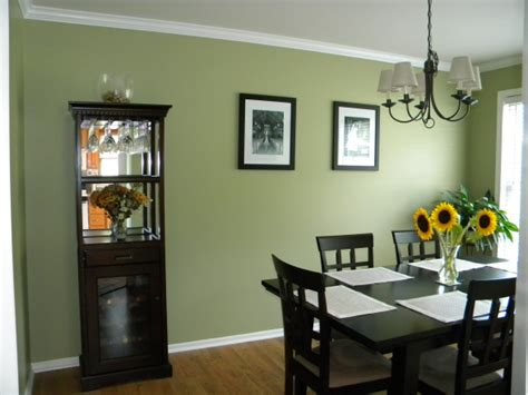 Dining Room Green Paint Diningroom Wisconsinbarnhouse