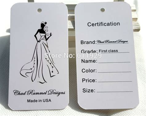 cheap swing tags online cheap a customized paper hang tag clothing swing