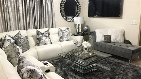 home decore com glam living room tour home decor updates 2017 lgqueen