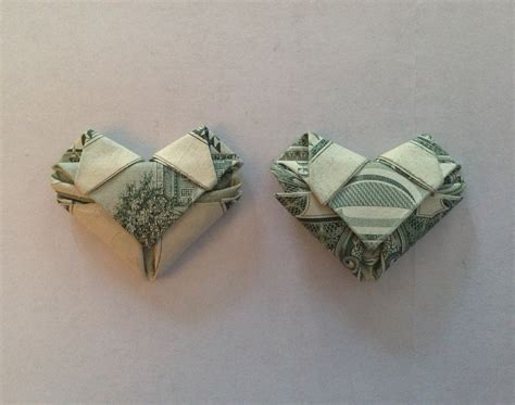 Money Origami With Quarter - origami origami dollar tutorial how to make