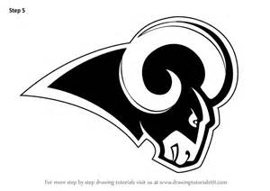 the rams free learn how to draw los angeles rams logo nfl step by step