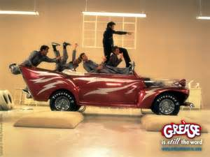 Greased Lightning Car Name Greased Lighting Goes To Car Heaven The Same Week As Jeff