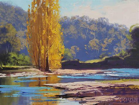beautiful australian landscape paintings by graham