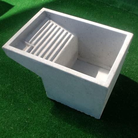 vasca per lavanderia vasca lavatoio pilozzo uso lavanderia in cemento grigio