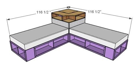 twin bed plans diy  woodworking