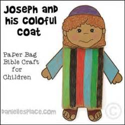 coat of many colors in the bible joseph and his coat of many colors bible craft for
