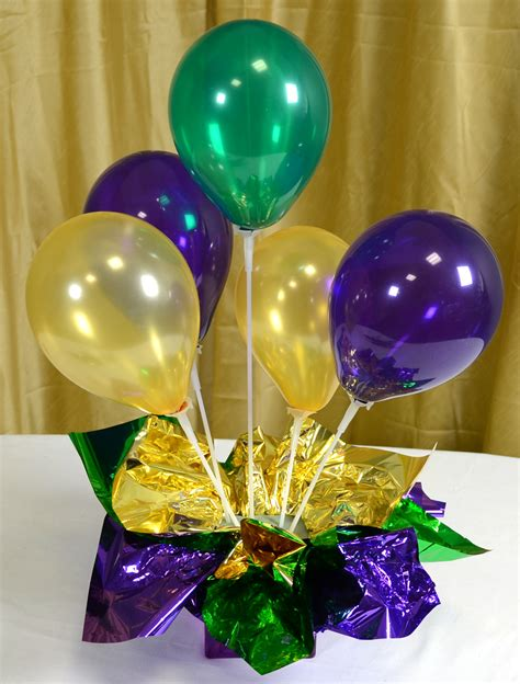 balloon centerpieces ideas by mardi gras outlet air filled balloon centerpieces ideas tutorials
