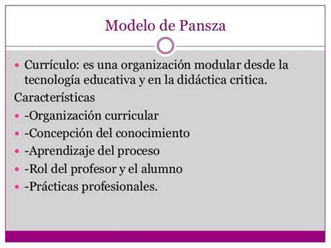 Modelo Curricular Modular Dise 241 O Curricular Por Competencias Bessie