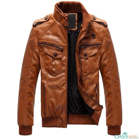 Handmade Leather Jackets - flaunt your attitude wearing custom made leather jackets