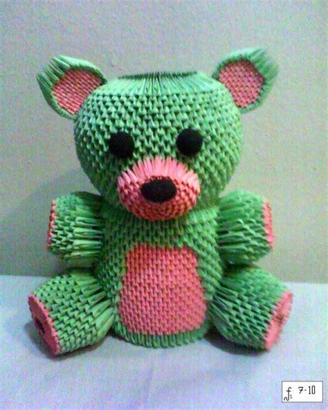 3d Origami Teddy - teddy 2 jpg album david foos 3d origami