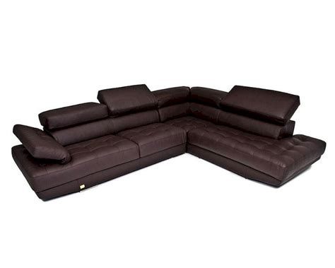 Top Grain Leather Sectional Sofas by Top Grain Leather Sectional Sofa Made In Italy 44l6012