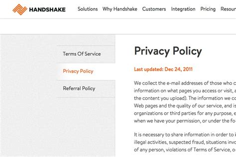 customer privacy policy template 2017 privacy policy generator termsfeed 28 images