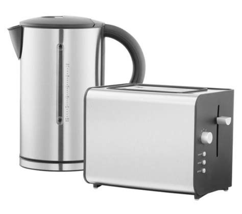 Kettle Toaster Deals logik lbset11 kettle toaster pack stainless steel 163
