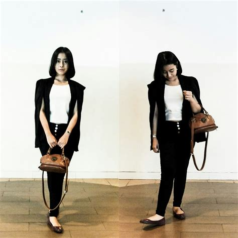 Jual Cape Blazer Zara by Nafisa Salma Zara Black Zara Cape Blazer