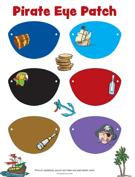 pirate eye patch template 9 best images of free printable pirate templates pirate