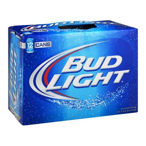 how much is a 12 pack of bud light cans bud light beer 12 pack hy vee aisles online grocery shopping
