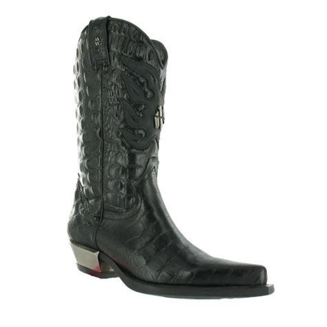 new rock mens boots new rock m7923 boots black cowboy boots from scorpio